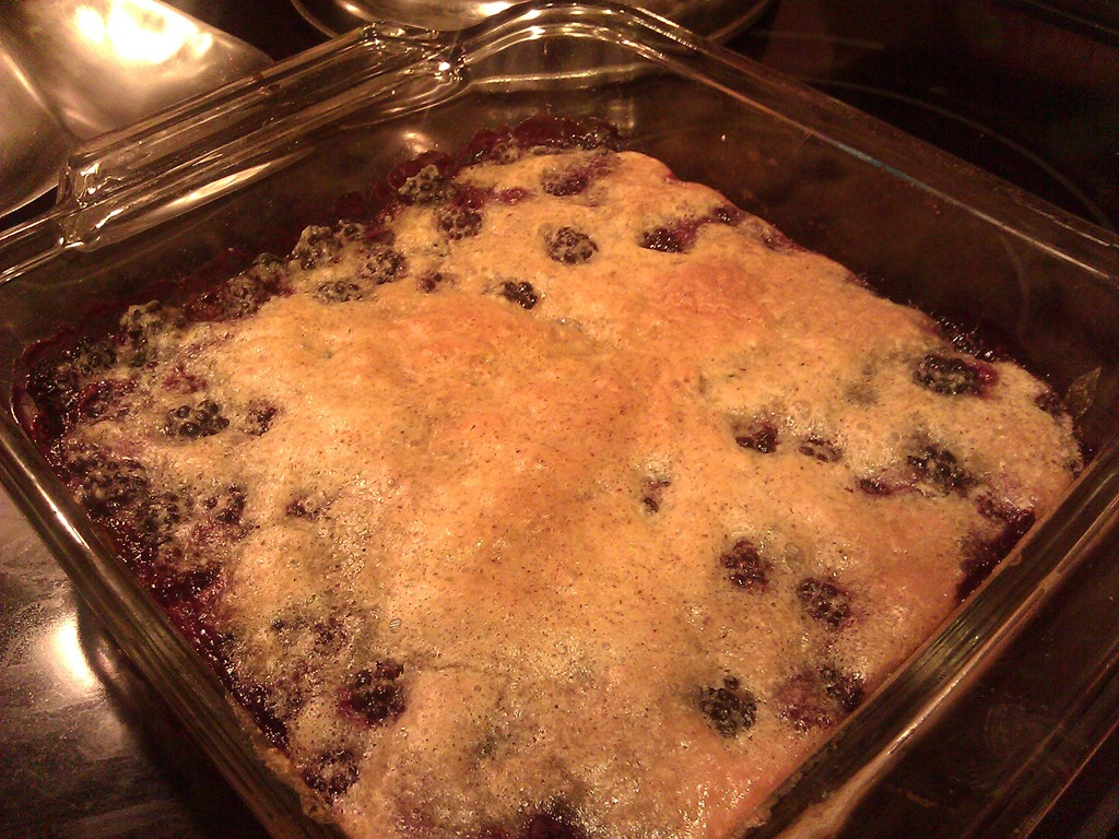 Low carb blueberry cobbler recipe