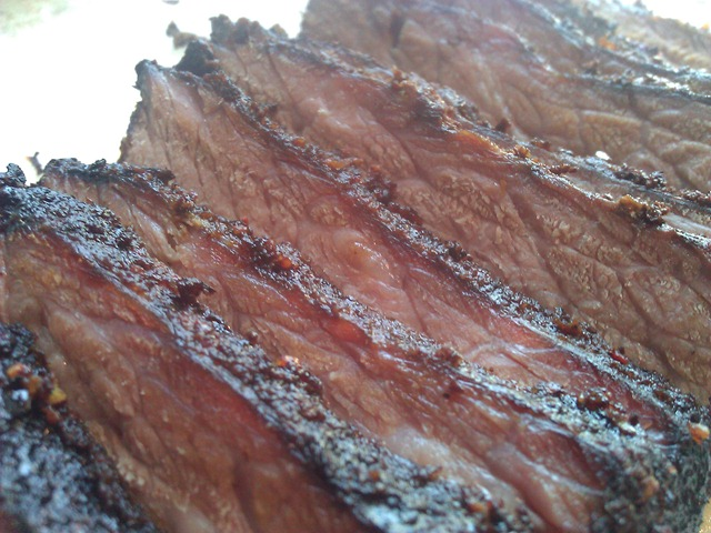 Low carb beef brisket dry version