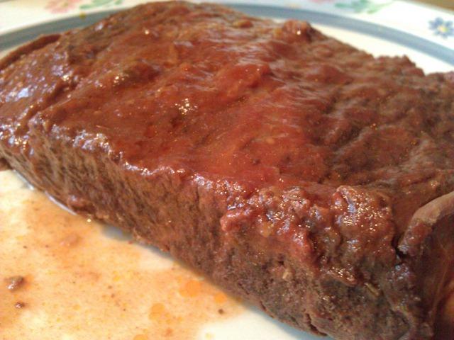 Low carb beef brisket wet version