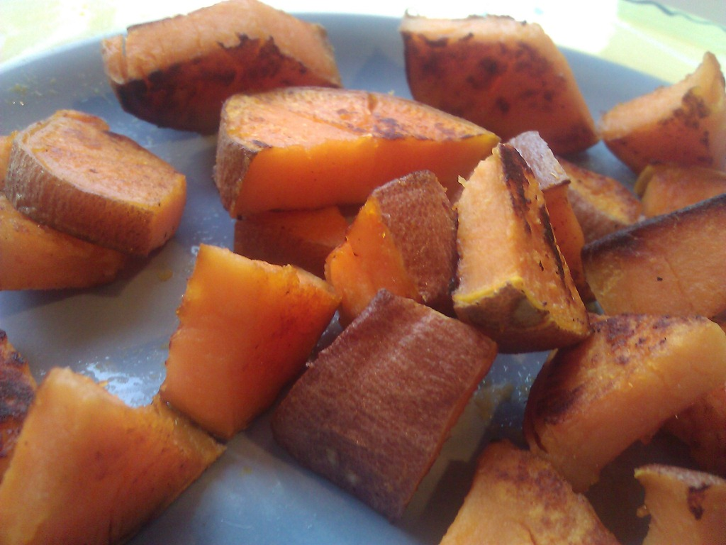 Why I eat sweet potatoes and not rice