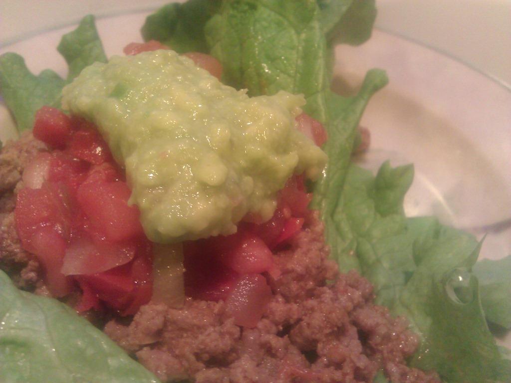 Paleo beef taco recipe