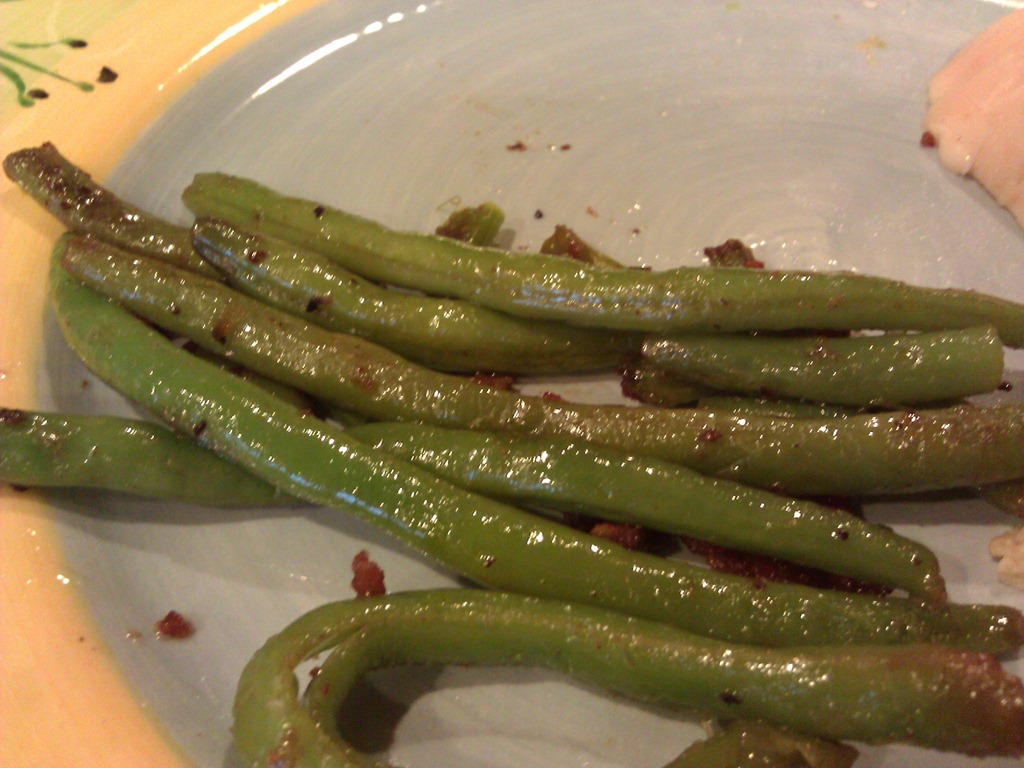 Paleo green bean recipe